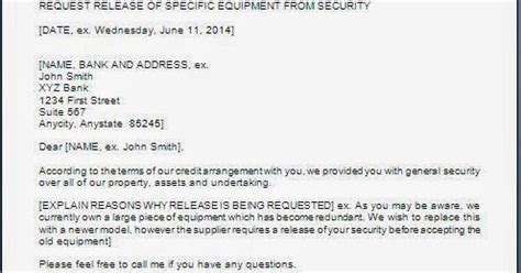 Security Release Letter Format security release letter format