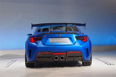 Subaru Brz Sti Horsepower Subaru Brz Sti Concept Debuts At New York Auto Show