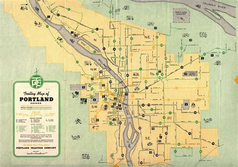 map of portland thinkoutloud vanport oregon 1920 s