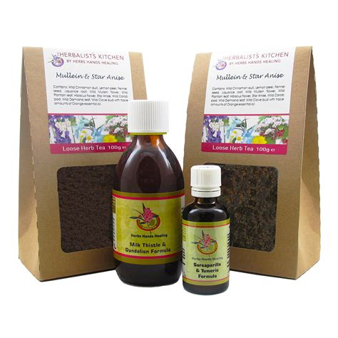 Liver Detox Kit by 28 Day Liver Detox Kit From Herbs Healing 250mls