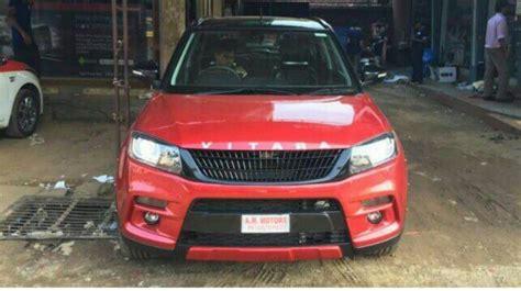 Maruti Suzuki Kerala Dealers Maruti Vitara Brezza Tastefully Modded
