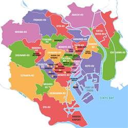 Tokyo World Map by A Quick Guide To Tokyo S Major Districts Tokyo Japan