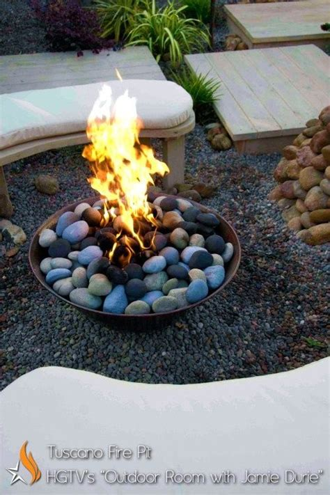 Firepit Rock River Rock Pit Info