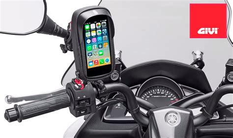 porta iphone 5s porta iphone 5 5s para moto givi s955b