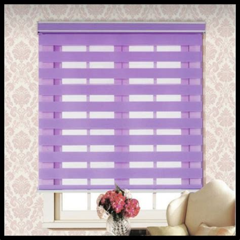 persianas properties limited 100 polyester finished product rainbow zebra blinds double