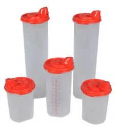 Plastic Kitchen Canisters buy tupperware magic easy flow red plastic oil dispenser