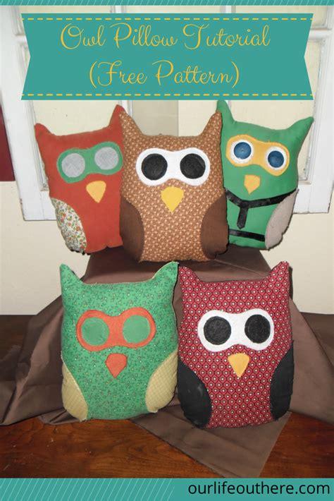Owl Pillow Pattern by Owl Pillow Tutorial