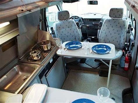 Tour Stop #0, Van Kitchen