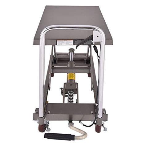 500 lb capacity hydraulic table cart colibrox rolling table cart 500lb capacity hydraulic cart