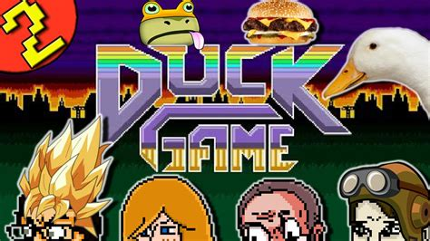 couch multiplayer duck game part 2 4 player free for all local multiplayer