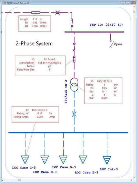 electrical single line diagram intelligent one line