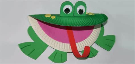 Paper Plate Frog Craft - paper plate frog craft 171 funnycrafts