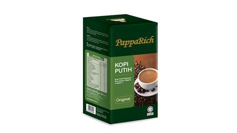 Cappuccino Original 800gr Without Sugar papparich malaysia instant coffee