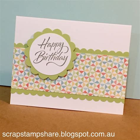 how to make a easy card scrap st zoe hop