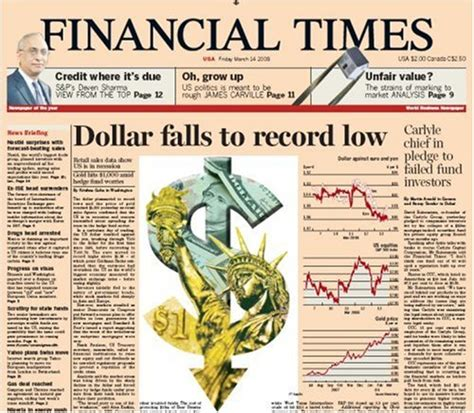 Financial Times Newsletter despite circulation slump the ft claims it now reaches 2