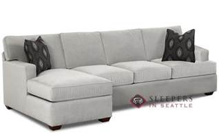 Sleeper Sectional With Chaise Customize And Personalize Lincoln Chaise Sectional Fabric Sofa By Savvy Chaise Sectional Size