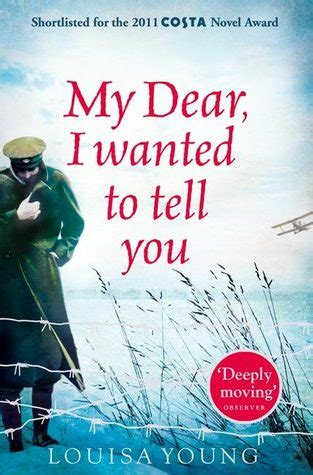 dear you books my dear i wanted to tell you by louisa reviews