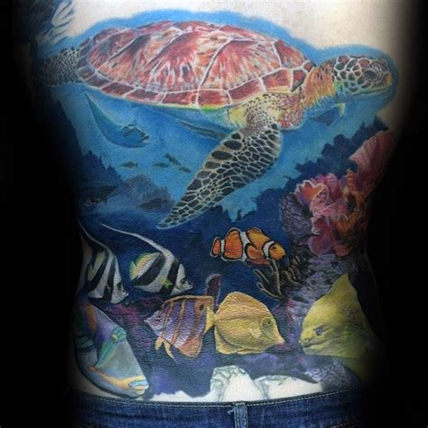 coral reef tattoo 50 coral reef designs for aquatic ink mastery
