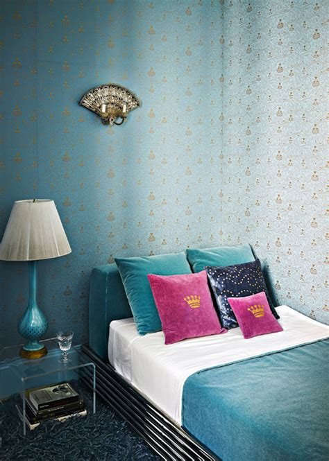 turquoise   upper east side interiors  color