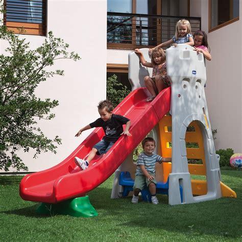 scivolo giardino scivolo per bambini da giardino chicco by mondo 30002