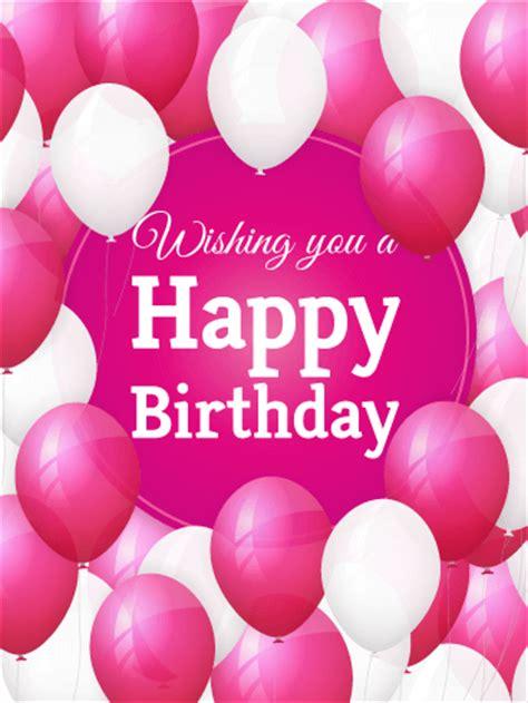lovely birthday balloon card | birthday & greeting cards