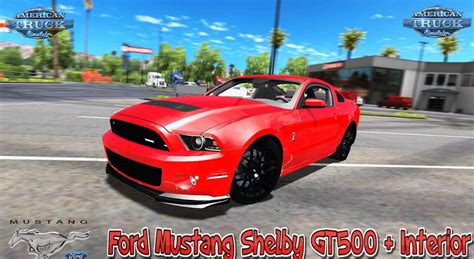 mustang gt500 interior ford mustang shelby gt500 interior v1 0 v1 6 x for ats