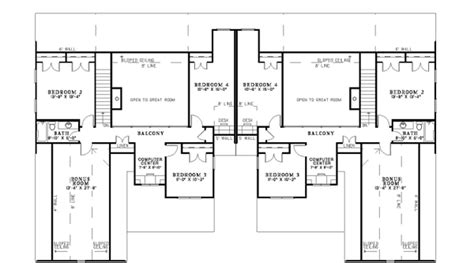 luxury duplex house plans floor plans luxury duplex villas joy studio design