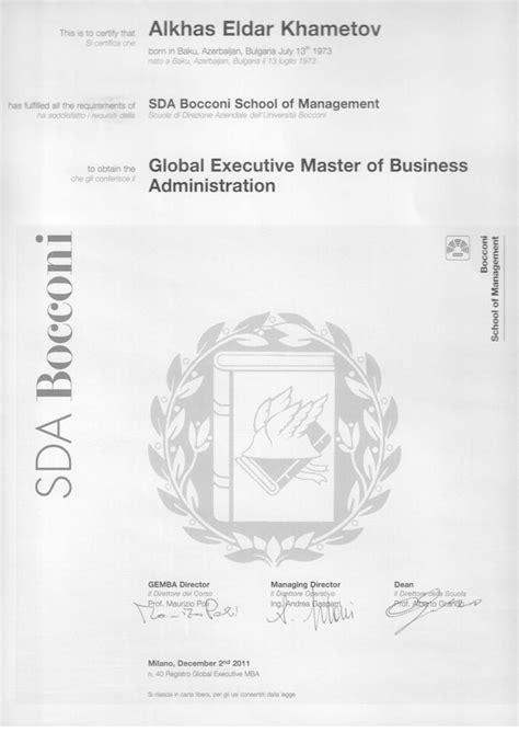 Bocconi Mba Program by Rotman Omnium Global Executive Mba Program Software Free