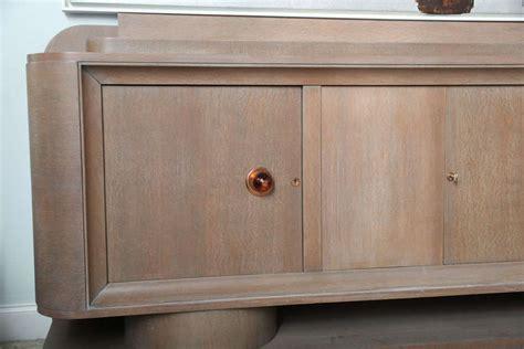 Limed Oak Sideboard limed oak sideboard manner of adnet for sale at 1stdibs