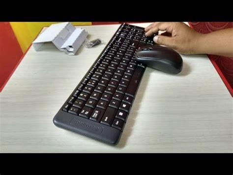 Logitech Wireless Desktop Mk220 unboxing logitech mk220 wireless keyboard and mouse review