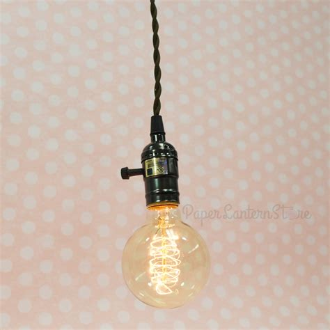 Pendant Light With Cord Single Pearl Black Socket Pendant Light L Cord Kit W Dimmer 11ft Ul Approved Brown Cloth