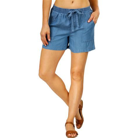 Gamis Soft Denim the 1964 denim company soft denim shorts mid blue big w