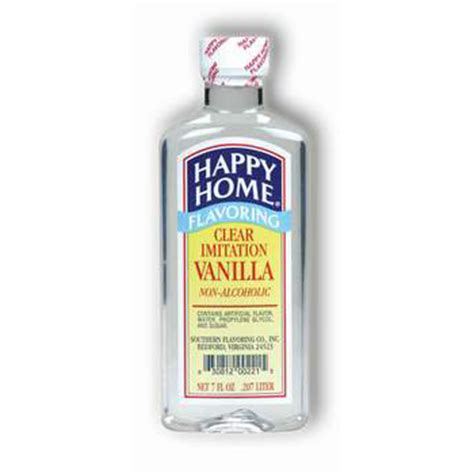 happy home products hh clear vanilla flavor byrd mill
