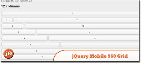 jquery mobile layout grid exles 12 jquery mobile layout plugins and exles