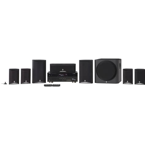 yamaha yht 895 7 1 channel home theater in a box yht 895bl b h