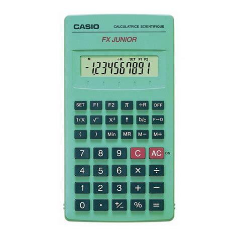 calcolatrice casio calculatrice scientifique casio fx junior fournitures