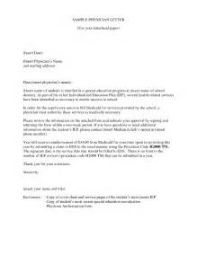 physician cover letter sle the best letter sle