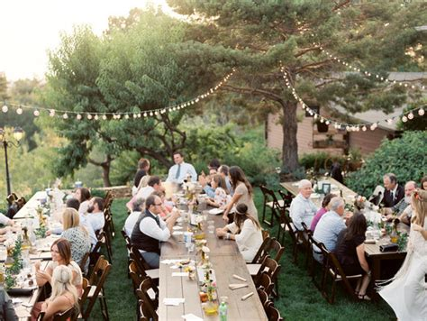 Backyard Summer Wedding by Summer Backyard Wedding Reception Wedding Ideas