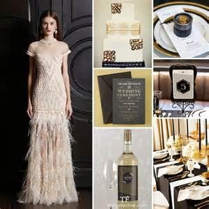 Wine Themed Home Decor Art Deco Wedding Inspiration Black Amp Gold Opulence