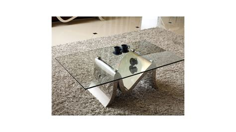 Table Basse Metal Et Verre 1604 by Table Basse Metal Et Verre Table Basse En Bois M Tal Et