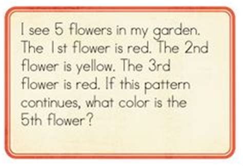 pattern solving questions 1000 images about kindergarten problem solving on