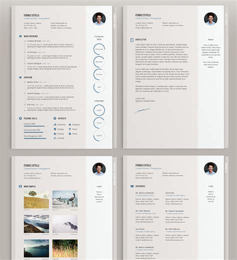 free minimal templates 112 best free creative resume templates updated