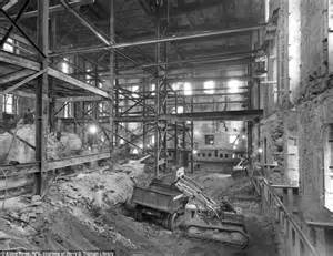 white house remodel fascinating pictures of when the white house was reconstructed entirely from the inside out