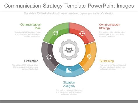communication strategy template powerpoint images