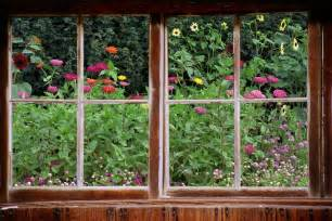 Window Wall Mural Wall Mural Window Self Adhesive Garden Window View 3 Sizes