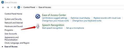 windows 10 speech recognition tutorial how to make windows 10 more accessible for people with low