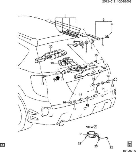 Toyota Interchangeable Parts Matrix And Vibe Rear Wiper Motors Interchangeable