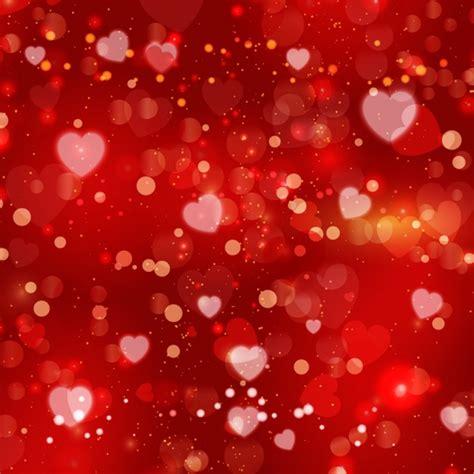 de corazones rosas y rojos sobre un fondo blanco imagenes sin corazones desenfocados rojos en un fondo brillante