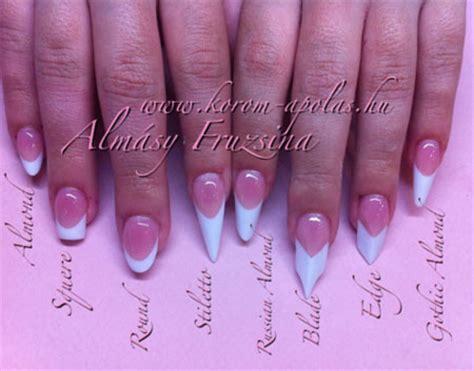 most popular nail length and shape popular nail shapes nail designs