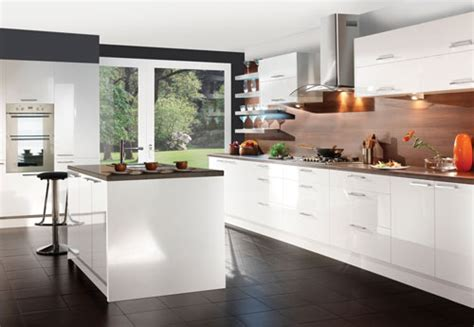 contemporary white kitchen cabinet ideas
